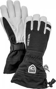 Bilde av Hestra Army Leather Heli Ski 5 finger Black