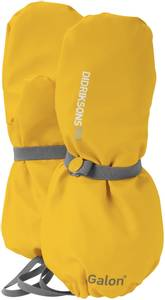 Bilde av Didriksons Pileglove Kids 2 Yellow (Regnvott)