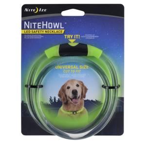 Bilde av Nite Howl LED halsband Grønn