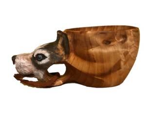 Bilde av Trekopp Hund Siberian Husky